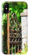 Garden Gate IPhone Case