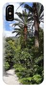 Garden In Menton IPhone Case