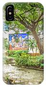 Garden In The Square IPhone Case