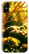 Garden Landscape On A Sunny Day IPhone Case