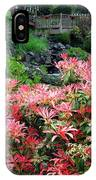 Garden Oasis IPhone Case