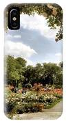 Garden Of Roses IPhone Case