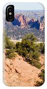 Garden Of The Gods And Springs West Side IPhone Case
