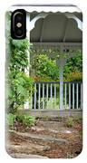 Garden Path And Gazebo IPhone Case