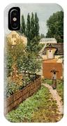 Garden Path In Louveciennes IPhone Case