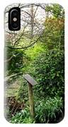 Garden Paths IPhone Case
