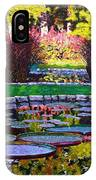 Garden Ponds - Tower Grove Park IPhone Case