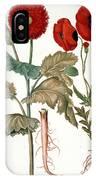 Garden Poppy IPhone Case
