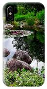 Garden Reflections ... IPhone Case