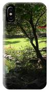 Garden Silouhette IPhone Case
