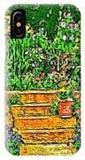Garden Sketches 1 IPhone Case