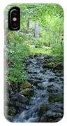 Garden Springs Creek In Spokane IPhone Case