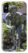 Garden Statue Ringling Museum  IPhone Case