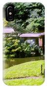 Garden Tea Houses IPhone Case