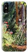 Garden View Window IPhone Case