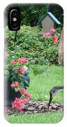 Garden Visitors IPhone Case