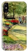 Garden Walk IPhone Case