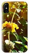 Garden Yellow IPhone Case
