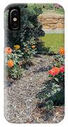 Gardener Pulling Weeds  IPhone Case
