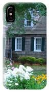 Gardens At The Burton-ingram House - Lewes Delaware IPhone Case