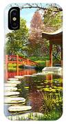 Gardens Of Fuji IPhone Case