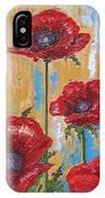Gardens Poppy IPhone Case