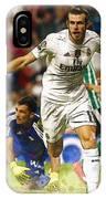 Gareth Bale Celebrates His Goal  IPhone Case