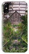Garfield Park Conservatory Reflecting Pool IPhone Case