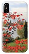 Garrick Temple On The River Thames At Hampton IPhone Case