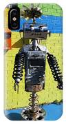 Gas Station Robot IPhone Case