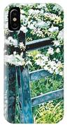 Gate And Blossom IPhone Case