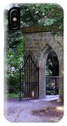 Gate At Cong Abbey Cong Ireland IPhone Case