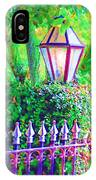 Gate With Lantern IPhone Case