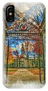 Gates To Knowledge Princeton University IPhone Case