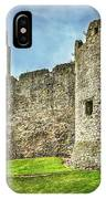 Gateway To Chepstow Castle IPhone Case
