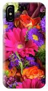 Gathered Garden Flowers IPhone Case