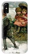 Gathering Holly IPhone Case