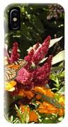 Gathering Nectar  IPhone Case
