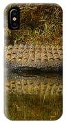 Gator Relection IPhone Case