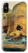Gauguin: Haystacks, 1889 IPhone Case