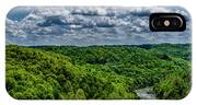 Gauley River Canyon And Clouds IPhone Case