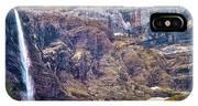 Gavarnie Circus Waterfall IPhone Case