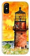 Gay Head Lighthouse Martha's Vineyard IPhone Case