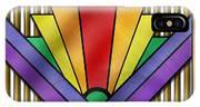 Rainbow Art Deco IPhone Case