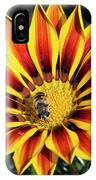 Gazania With Insect IPhone Case
