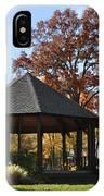 Gazebo At North Ridgeville - Autumn IPhone Case
