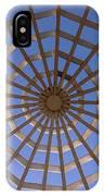 Gazebo Blue Sky Abstract IPhone Case