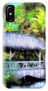 Gazebo In Paradise IPhone Case