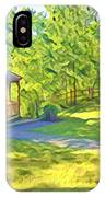 Gazebo On Onion Creek IPhone Case