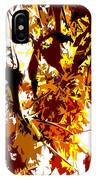 Gazing Into The Autumn Trees IPhone Case